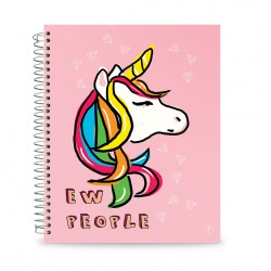 YM Sketch - Notebook A4 - Unicorn