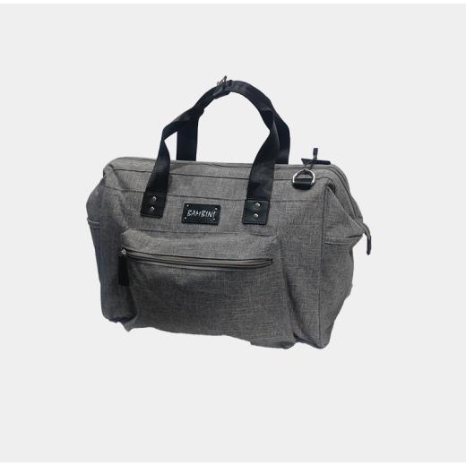 Bambini Diaper Bag Ruvalino (Grey)