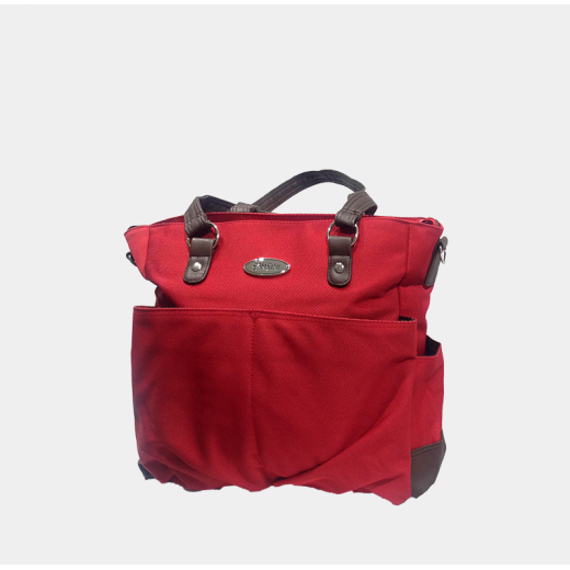 Bambini - Chelsea Diaper Bag - (Red)