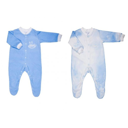 BabySafe Baby Wear Temperature Alert - Sleep Suit (2 pieces)