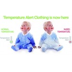 BabySafe Baby Wear Temperature Alert - Body Suits (2 pieces)