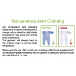 BabySafe Baby Wear Temperature Alert - Body Suits (2 pieces)