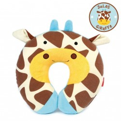 Skip Hop Zoo Little Kid and Toddler Travel Neck Rest, Giraffe