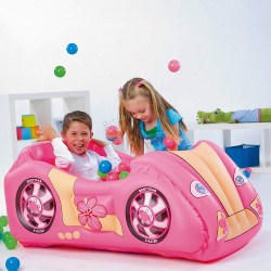 Race Car and Play Ball Combo Pink