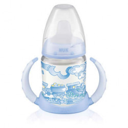 Nuk FC Learner Bottle150ml With Spout - Blue