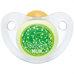 Nuk Soother Silicone Trendline Night / Day Stage 2