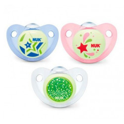Nuk Silicon Soother Night/Day Stage 3