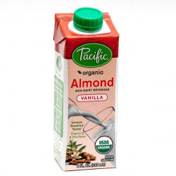 Pacific Non-Dairy Origanic Almond Vanilla Low Fat (240 ML)