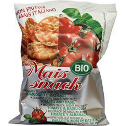 Fiorentini Organic Corn Snacks Tomato and Basil 50g