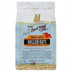 Bob's Red Mill Extra Thick Rolled Oats (907 Gram)