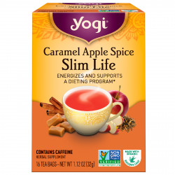 Yogi Tea, Caramel Apple Spice Slim Life Tea 32g