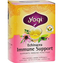 Yogi Tea, Echinacea Immune Support 24g