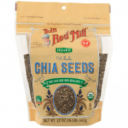 Bob's Red Mill Organic Gluten Free Whole Chia Seeds 340g