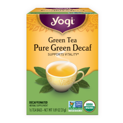 Yogi Tea, Green Tea  Pure Green Decaf - 31g