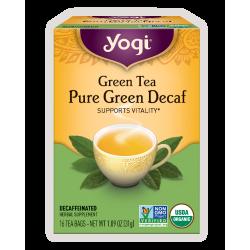 Yogi Tea, Green Tea  Pure Green Decaf - 31g