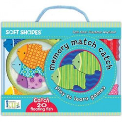 Memory Match Catch Bath Cards