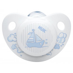 Nuk Silicone Soother Sleep Time - Stage 1 (Blue)