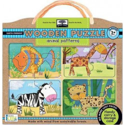 Wodden Puzzles -Animal Patterns