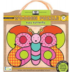 Wodden Puzzles -Busy Butterfly
