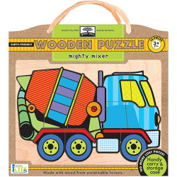 Wodden Puzzles -Mighty Mixer