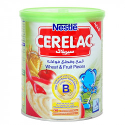 Cerelac Fruit Pieces & Wheat 400g