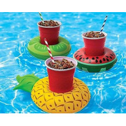 Tropical Fruit Cup Holder (3-Pack)