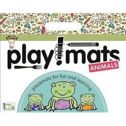 Innovative Kids Green Playmats - Animals