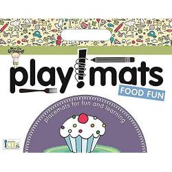 Innovative Kids Green Playmats - Food Fun