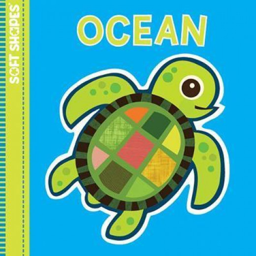 Innovative Kids Green Soft Shapes:OCEAN