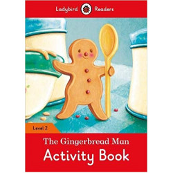 Ladybird Readers Level 2 : The Gingerbread Man  activity book WB