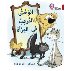 Collins Big Cat : Monster In The Mirror-Arabic