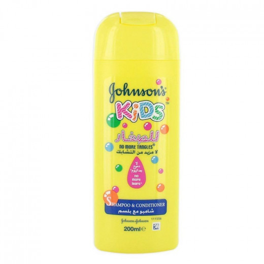 Johnsons kids no more tangles shampoo and conditioner