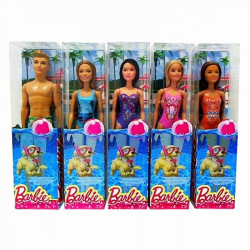 Barbie Beach  Doll Assortment - 5 Types