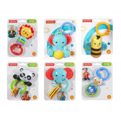 Fisher-Price Rattles, Assorted Models ( 1 Pack )