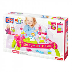 Mega Bloks Lil' Princess Play 'N Go Fairy Table Building Set