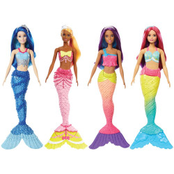 Barbie Mermaid Asst - 4 Types