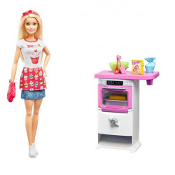 Barbie Kitchen Gaming Set