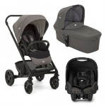 Joie Chrome Foggy Travel System, Carrycot & Car Seat