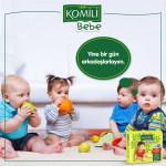 KOMiLi Bebe Jumbo Size 4 Maxi 7-18 Kg 45 PCS