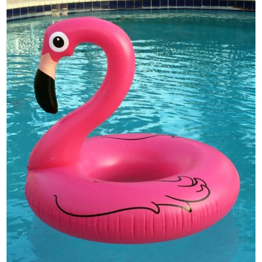 Giant Pink Flamingo Ring