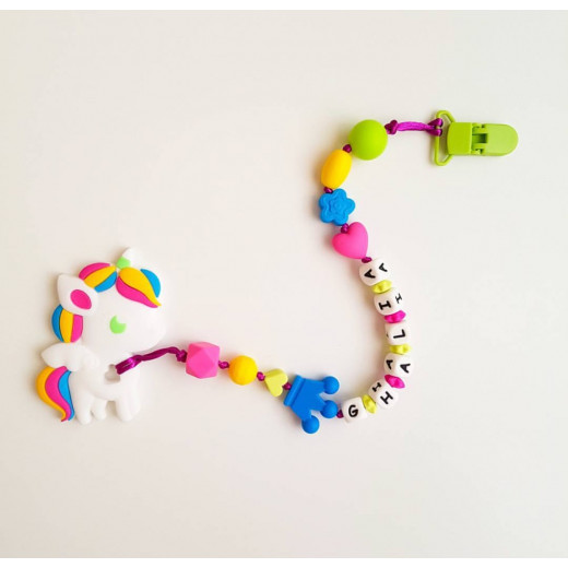 Baby Holder - Customized Teething Holder with Letters (more than 5 letters)
