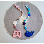 Baby Holder -Customized Teething Holder with Letters (2-5 letters)