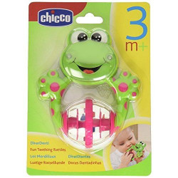 Chicco Fun Teething Rattle Frog