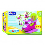 Chicco Pink  Quattro 4-in-1 Sit n Ride Car