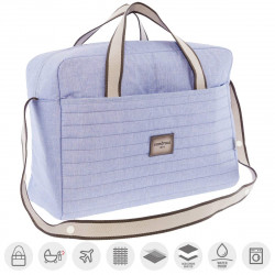 Cambrass Maternity Bag  ,Denim -Blue
