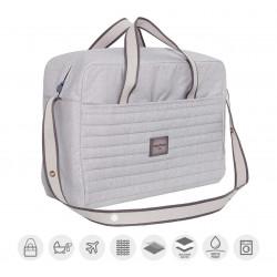 Cambrass Maternity Bag  ,Denim - Grey