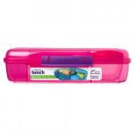 Sistema Bento Box - 5x Divided XL Lunchbox Assorted Colors, 1.76L