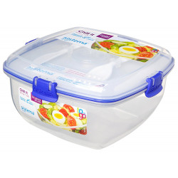 Sistema Food Container Chill It Lunch Box with Ice Block To Go 1.3L Assorted Colours