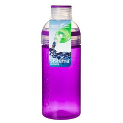 Sistema Active Hydrate Trio Bottle, 580 ml, Purple