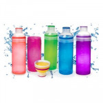 Sistema Active Hydrate Trio Bottle, 580 ml, Assorted Colours